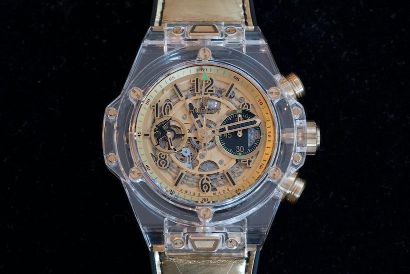hublot usain bolt big bang only watch