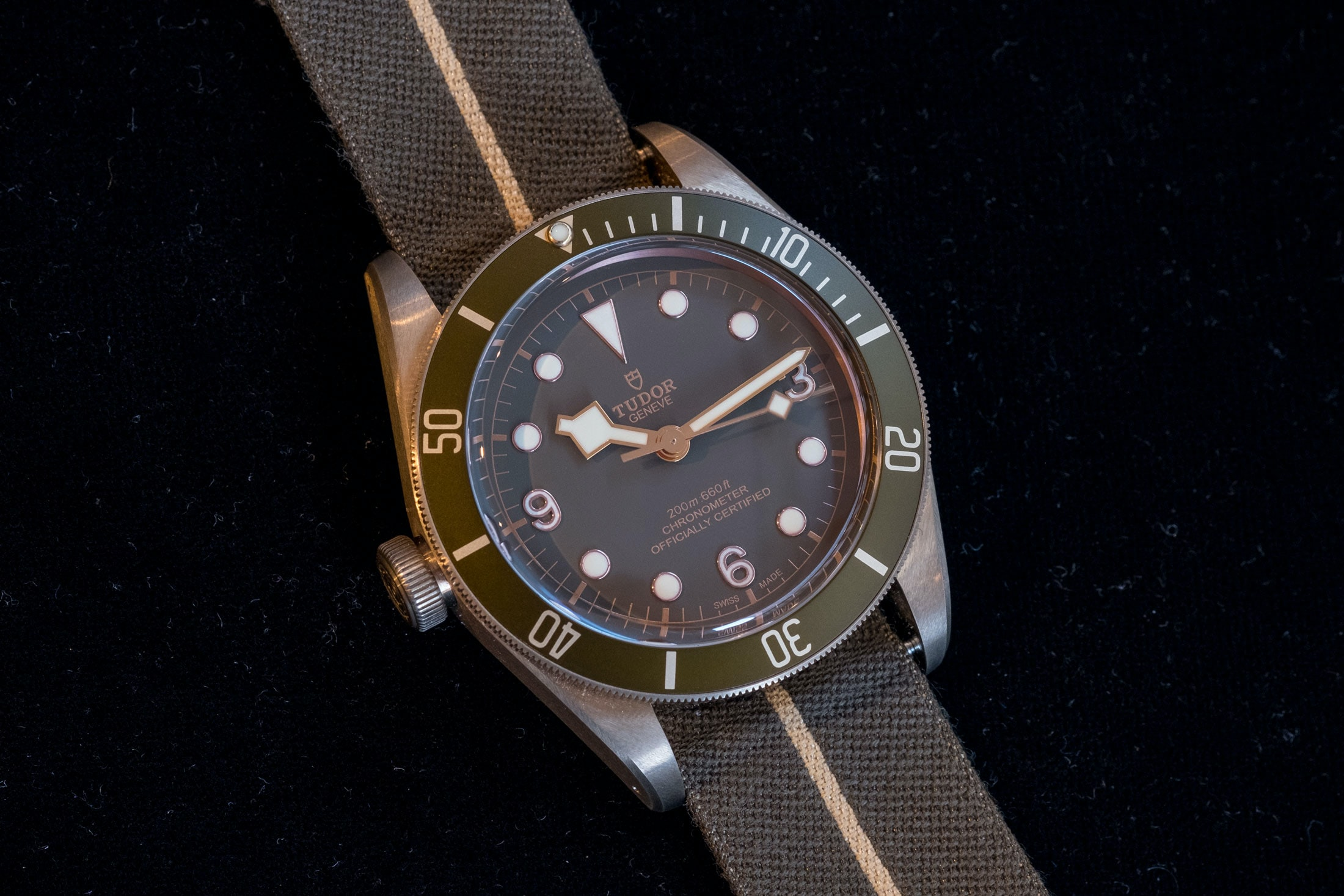 tudor black bay bronze one  Auction Report: My Eleven Favorite Watches From Only Watch 2017 tudor