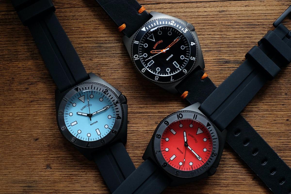 bamford mayfair watch