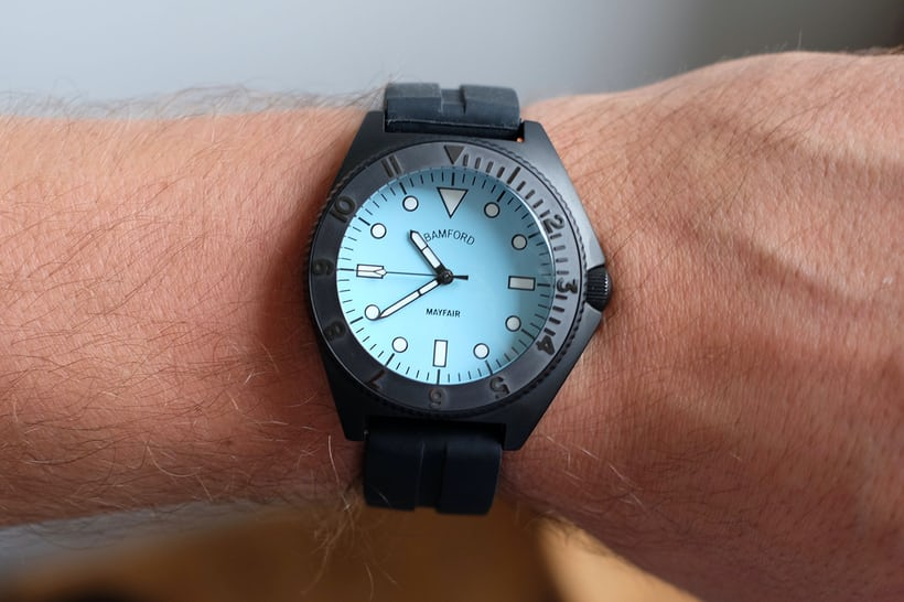 bamford mayfair watch wristshot