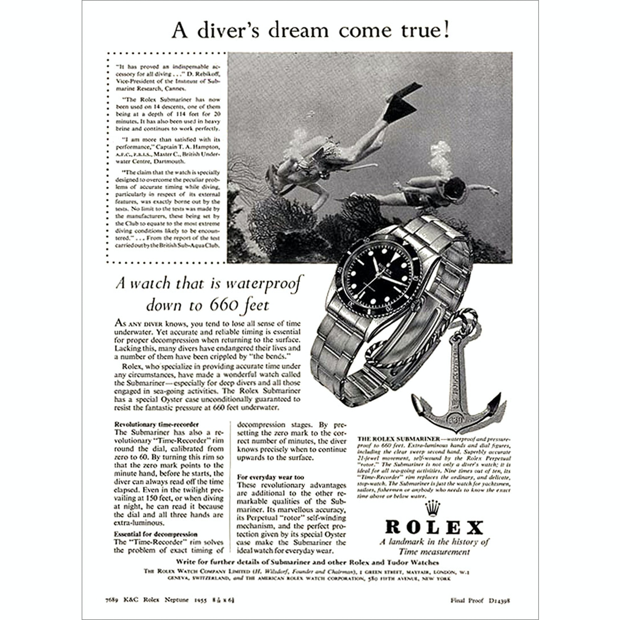 Reference Points: Understanding The Rolex Sea-Dweller Reference Points: Understanding The Rolex Sea-Dweller 333 444