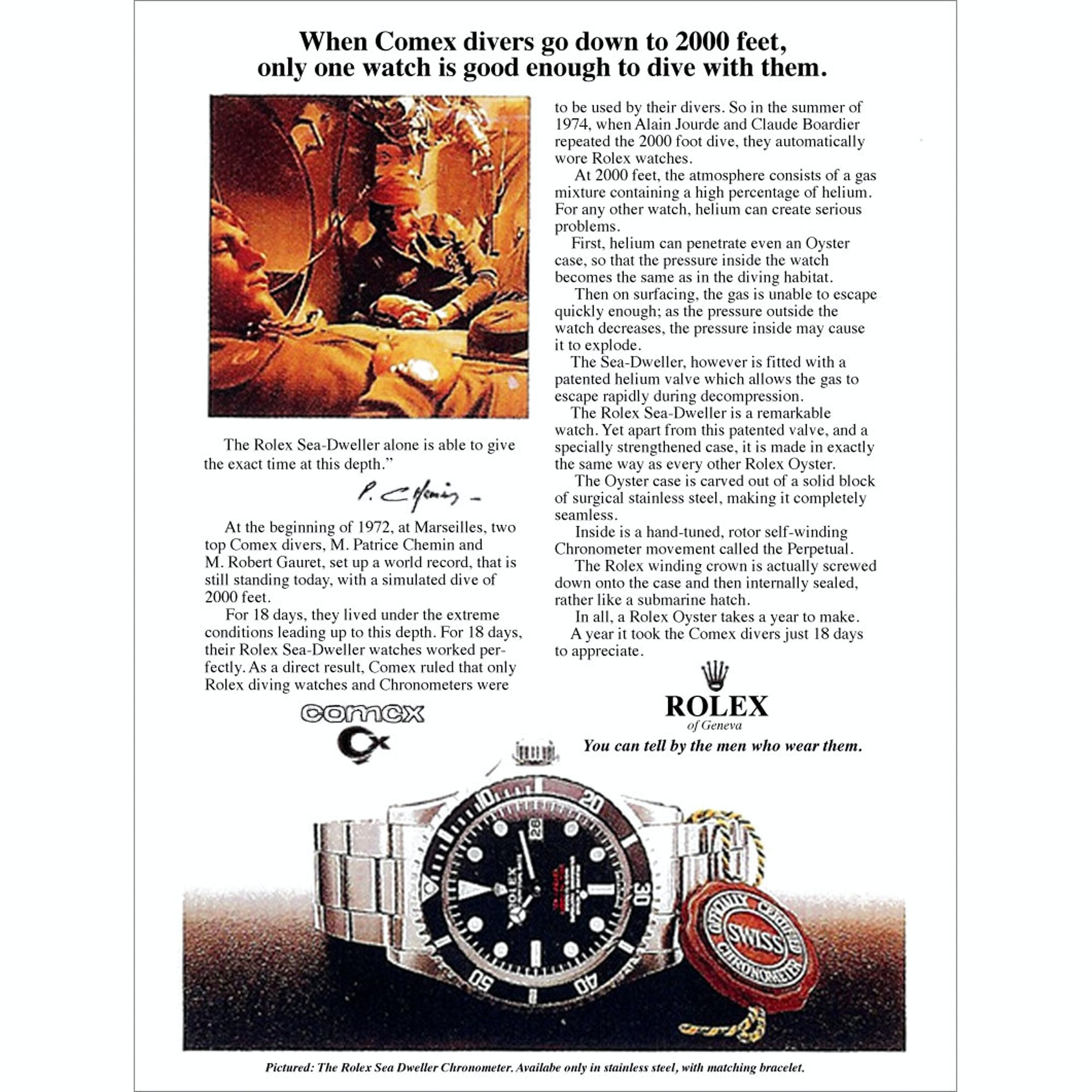 Reference Points: Understanding The Rolex Sea-Dweller Reference Points: Understanding The Rolex Sea-Dweller 2222