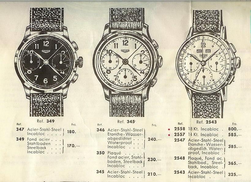 Heuer Chronographs