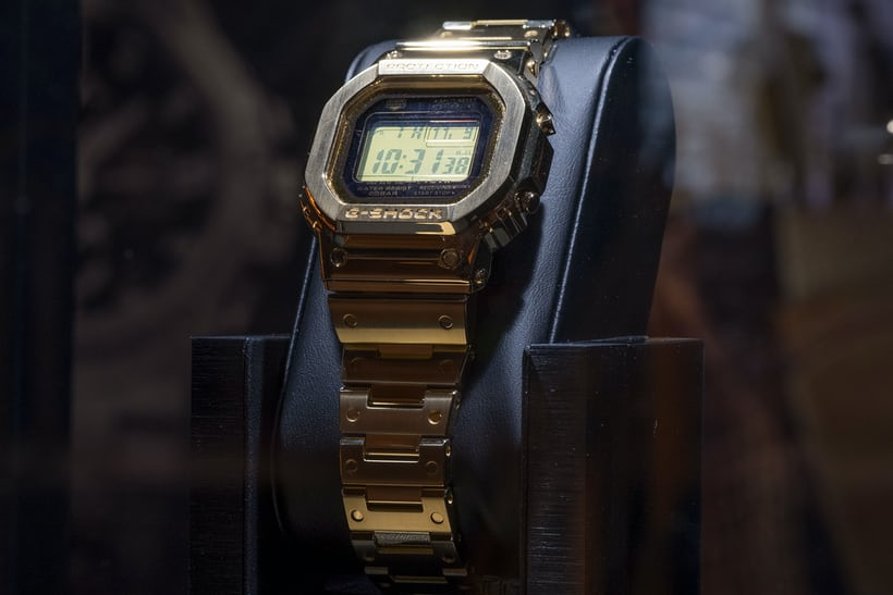 Introducing The G Shock Gold Tornado Collection Hodinkee