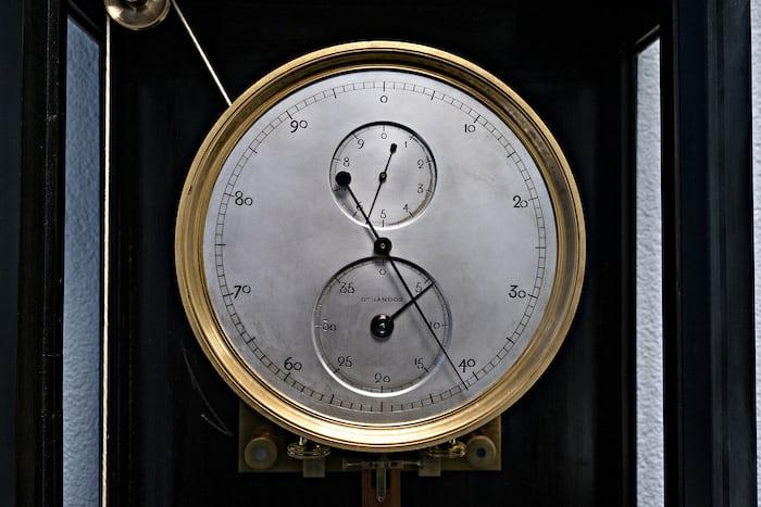 Gustave Sandoz Clock Urwerk Geneva, dial