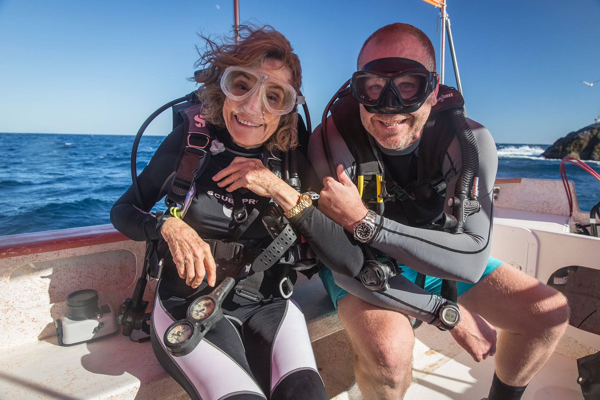 As seen in a recent story by Jason Heaton: Dr. Sylvia Earle dives with a  Technical Perspective: A Tale Of Two ISOs, Or What Water Resistance Ratings Really Mean Technical Perspective: A Tale Of Two ISOs, Or What Water Resistance Ratings Really Mean Sylvia JH