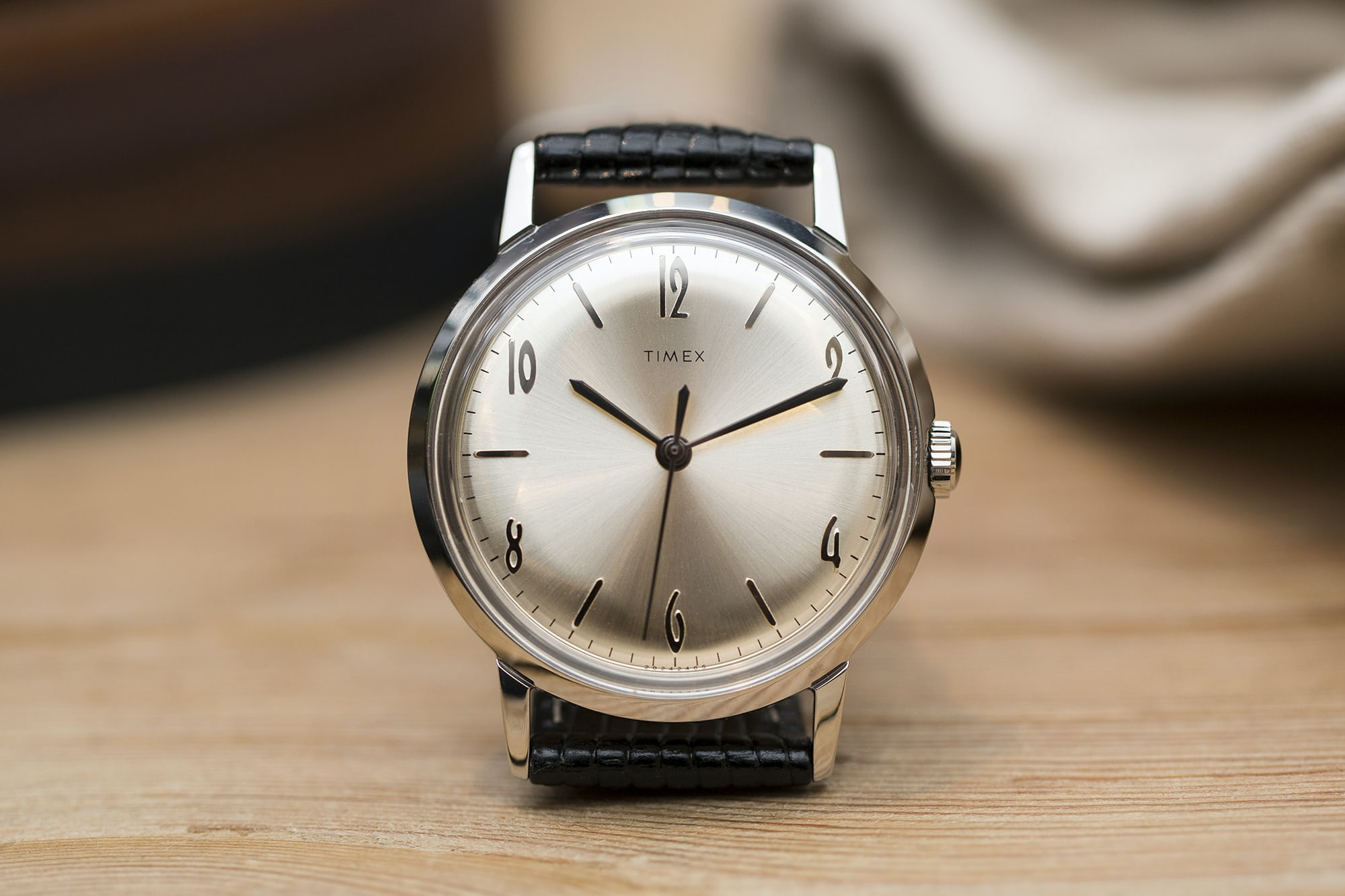<p>The center-seconds watch is the first mechanical watch produced by the maker since 1982.</p>