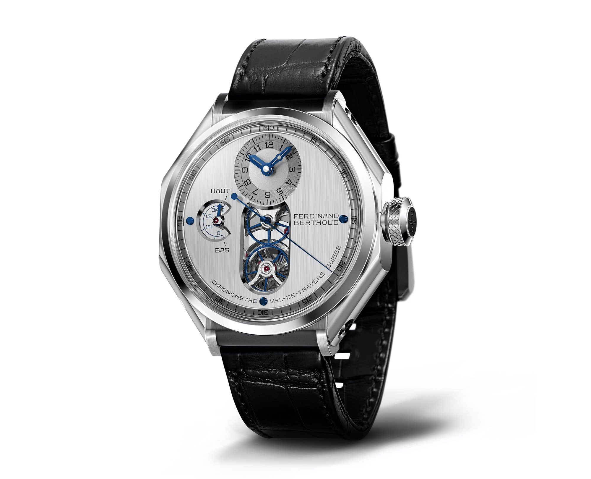 Just announced at Dubai Watch Week: the newest version of the Chopard Group's Ferdinand Berthoud watch. Happenings: Dubai Watch Week 2017 Happenings: Dubai Watch Week 2017 FB
