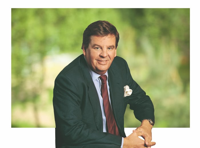 Richemont Group Chairman Johann Rupert