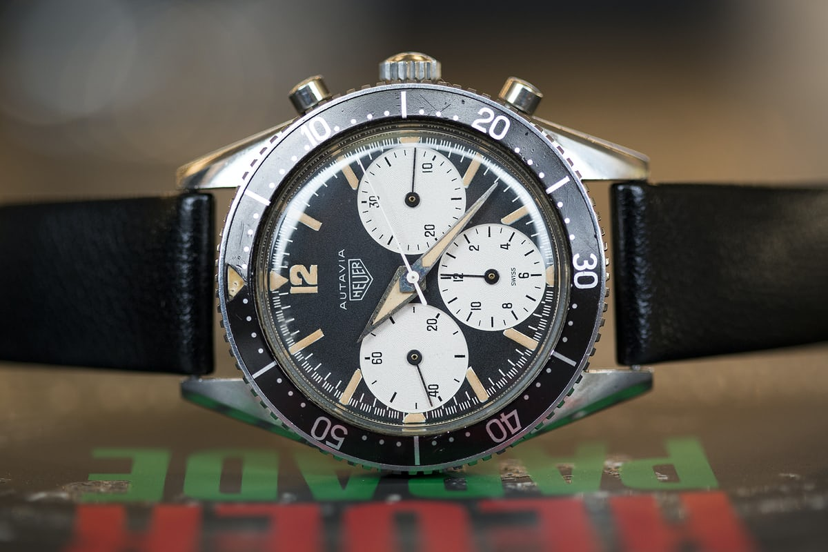 Heuer Parade Autavia Big Subs 2446