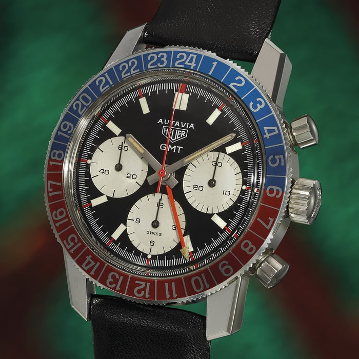 Lot 25 Heuer Autavia GMT