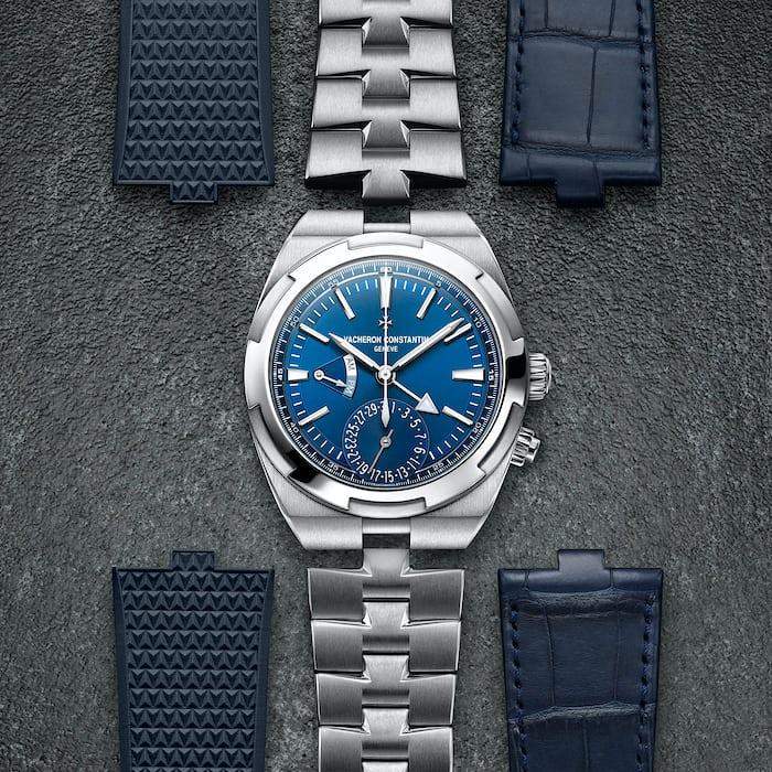 vacheron constantin overseas dual time straps