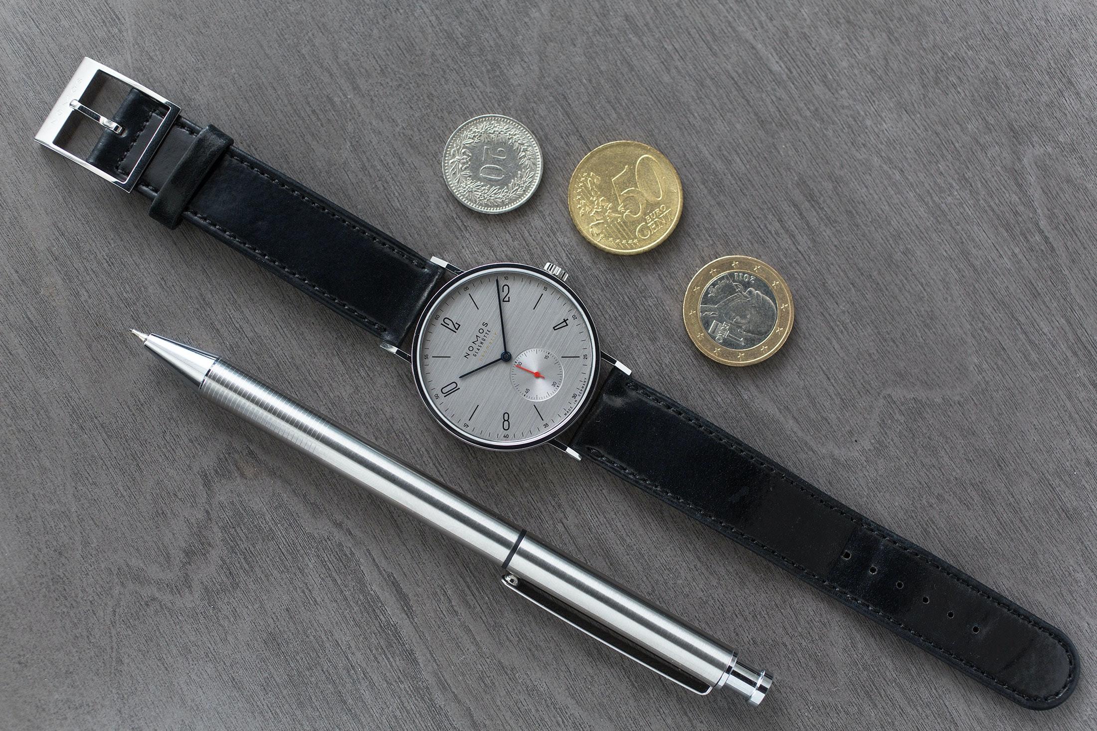 Hands-On: The NOMOS Glashütte Tangente Neomatik 39 Silvercut