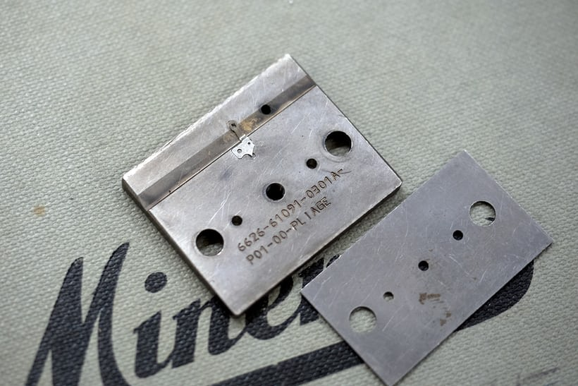 tool for shaping steel part, Montblanc Villeret