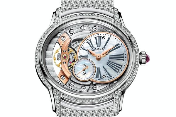 white gold audemars piguet millenary