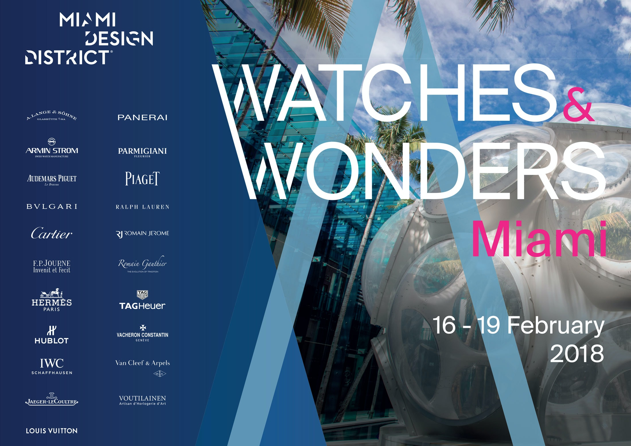 watches and wonders miami  Happenings: Join Us For The First-Ever Watches & Wonders Miami, At The Miami Design District In February 2018 miami