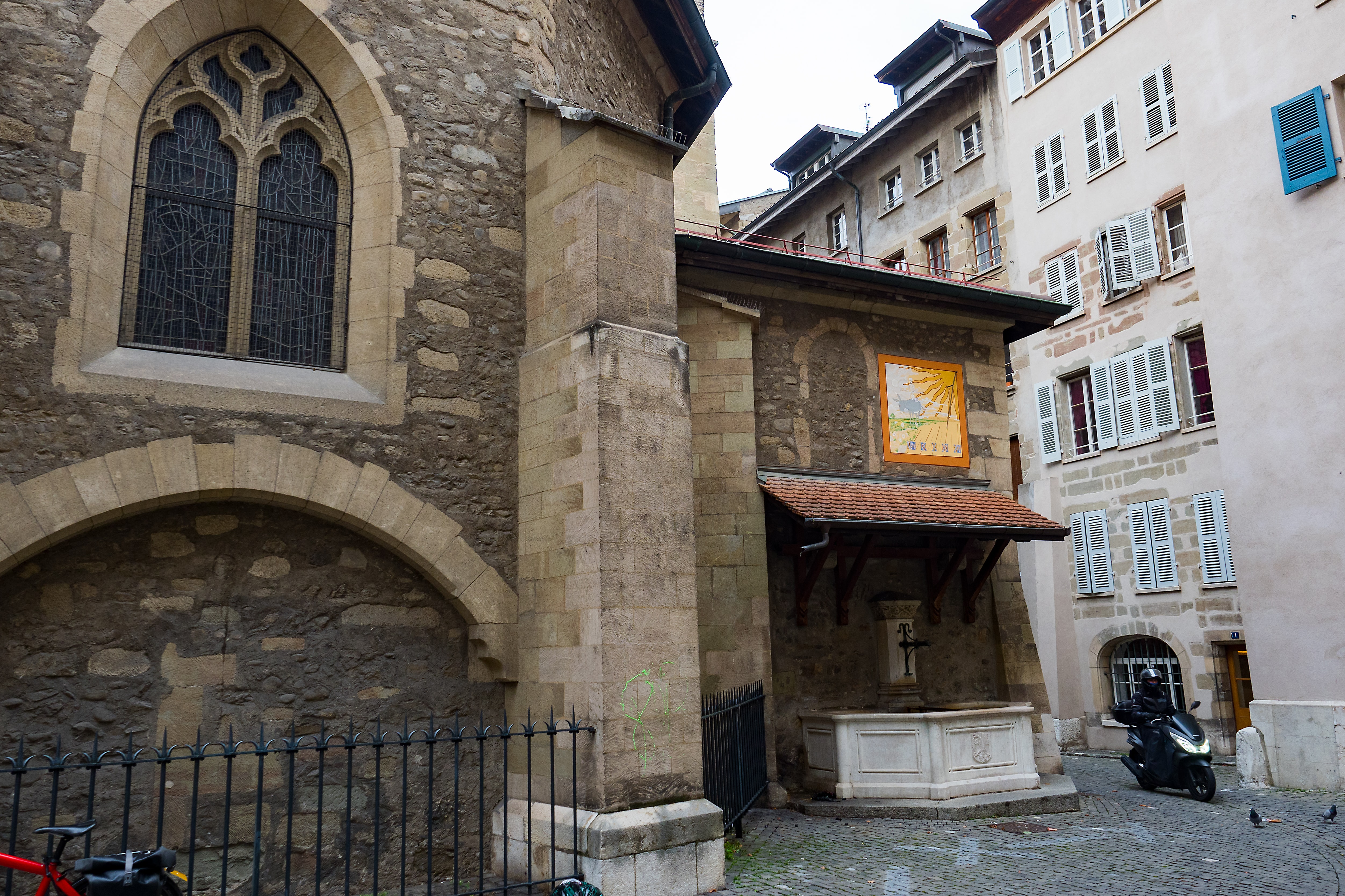 Dispatches: Public Clocks And Sundials In Geneva (Including That Church Clock Rolex Has Been Winding For 77 Years) Dispatches: Public Clocks And Sundials In Geneva (Including That Church Clock Rolex Has Been Winding For 77 Years) PB064027