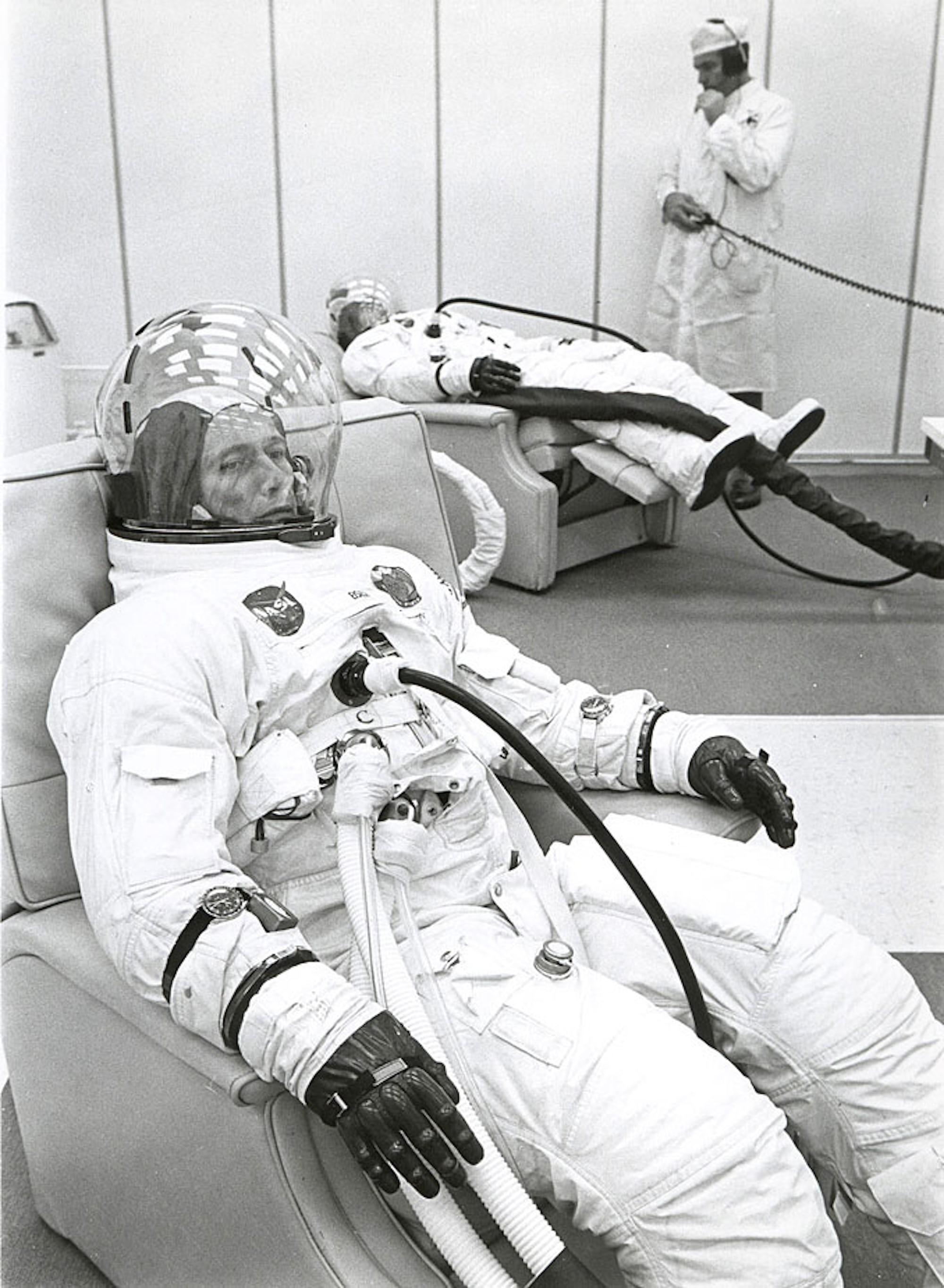 Donn Eisele Apollo 7 Two Speedmasters