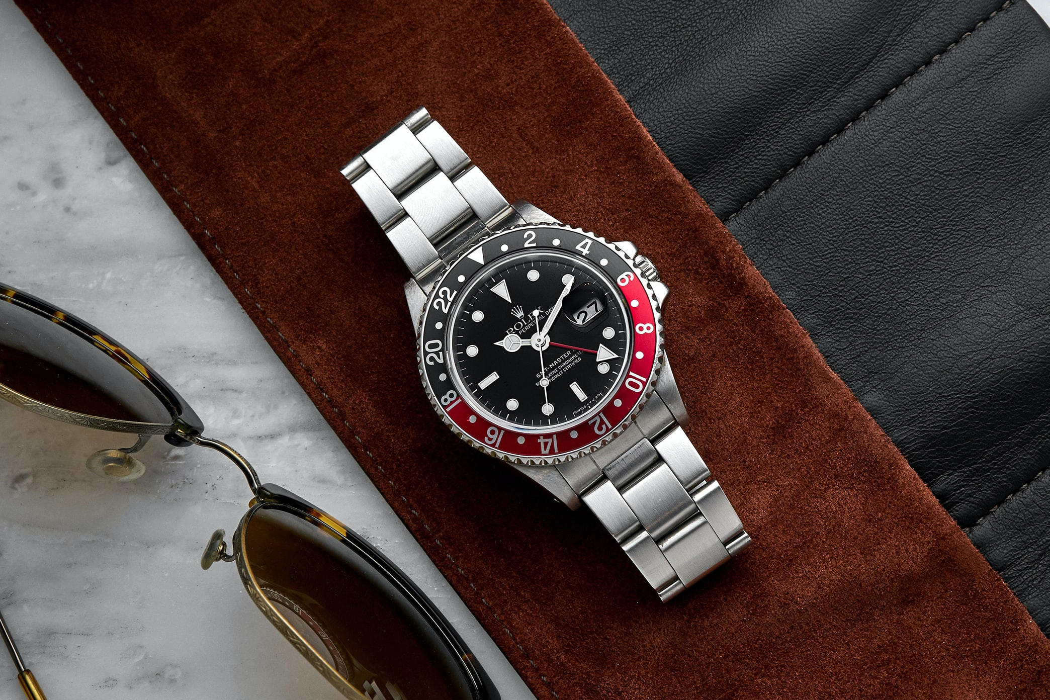 In The Shop - Vintage Watches: A 1984 Rolex GMT-Master II 16760 'Fat Lady,' A 1970s Breitling Chrono-Matic 7651, And A 1972 Rolex Day-Date Reference 1803 In The Shop – Vintage Watches: A 1984 Rolex GMT-Master II 16760 'Fat Lady,' A 1970s Breitling Chrono-Matic 7651, And A 1972 Rolex Day-Date Reference 1803 1025 RolexGMT Lifestyle