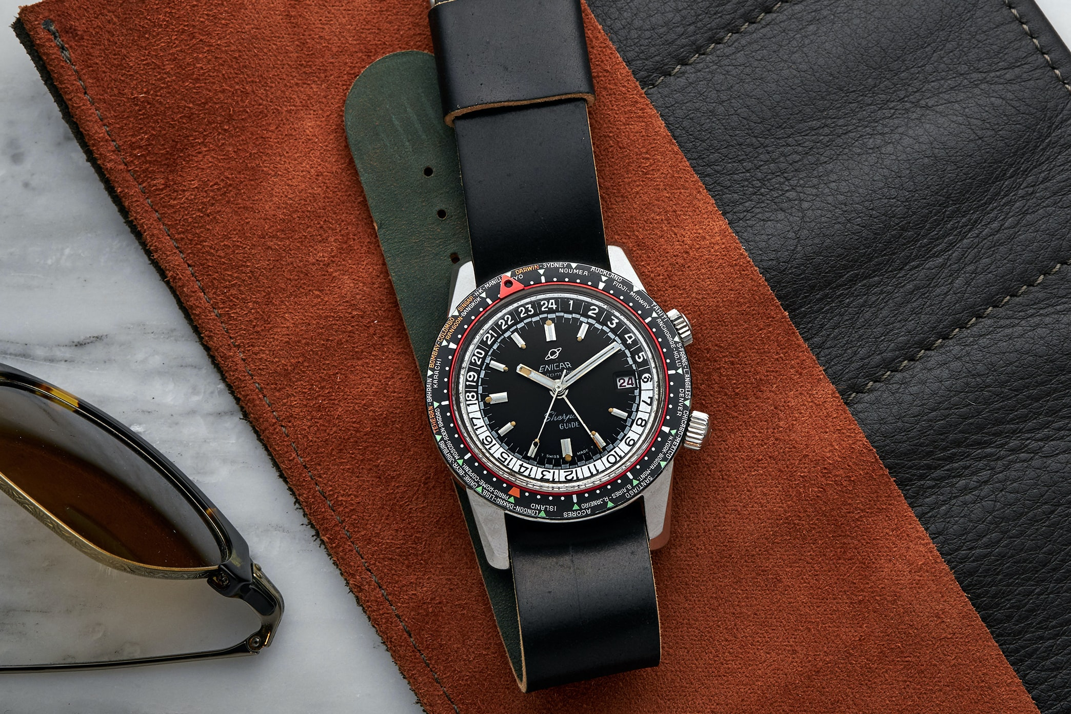 In The Shop – Vintage Watches: A 1984 Rolex GMT-Master II 16760 'Fat Lady,' A 1970s Breitling Chrono-Matic 7651, And A 1972 Rolex Day-Date Reference 1803 823 EnecarSherpaguide Lifestyle