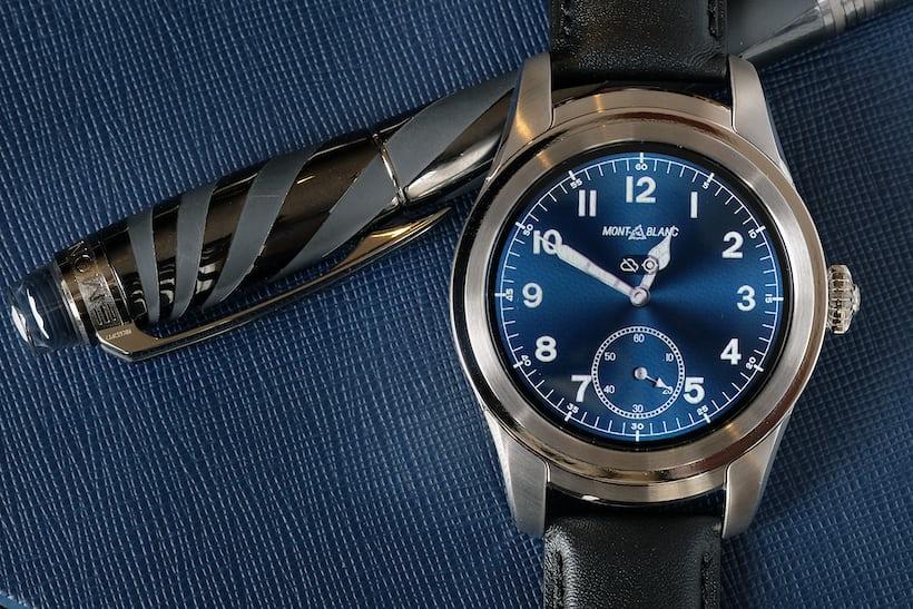 montblanc summit smartwatch