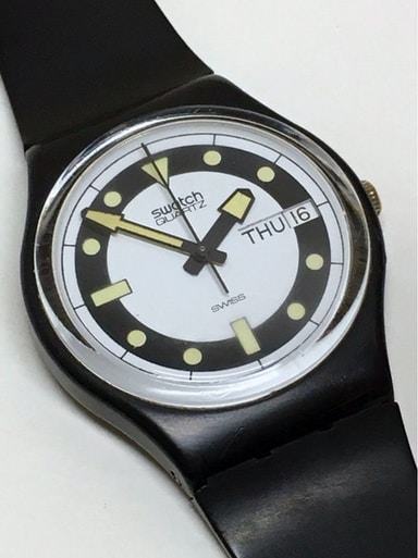 Introducing The Swatch Sistem51 Hodinkee Vintage 84 Hodinkee Shop