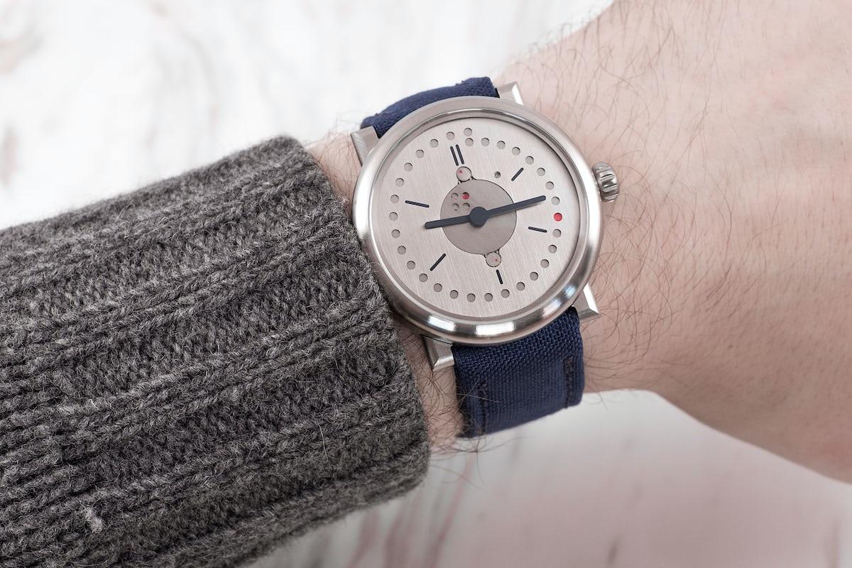 ochs und junior perpetual calendar titanium wristshot