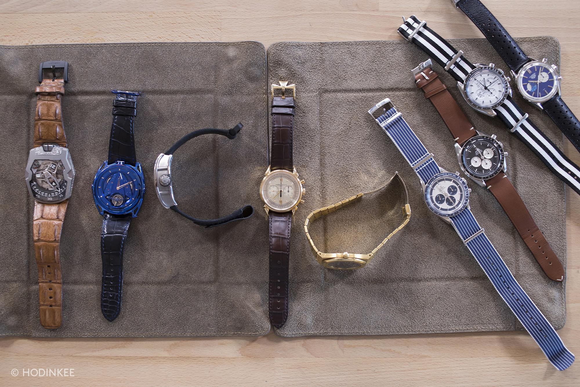 『Revolution』『The Rake』 を創刊したウェイ・コー(Wei Koh)氏の時計コレクション