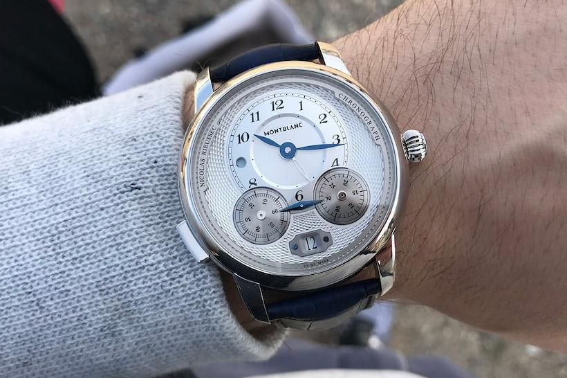 Montblanc Star Legacy Chronograph Rieussec wristshot
