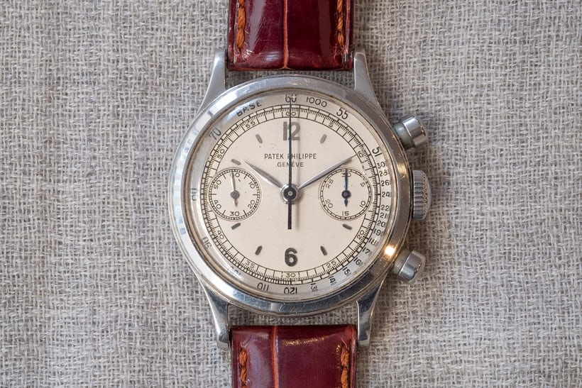 patek philippe 1463 steel christies