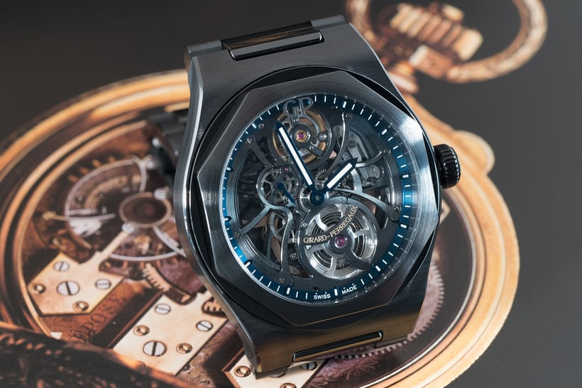 Laureato Skeleton Ceramic US special edition