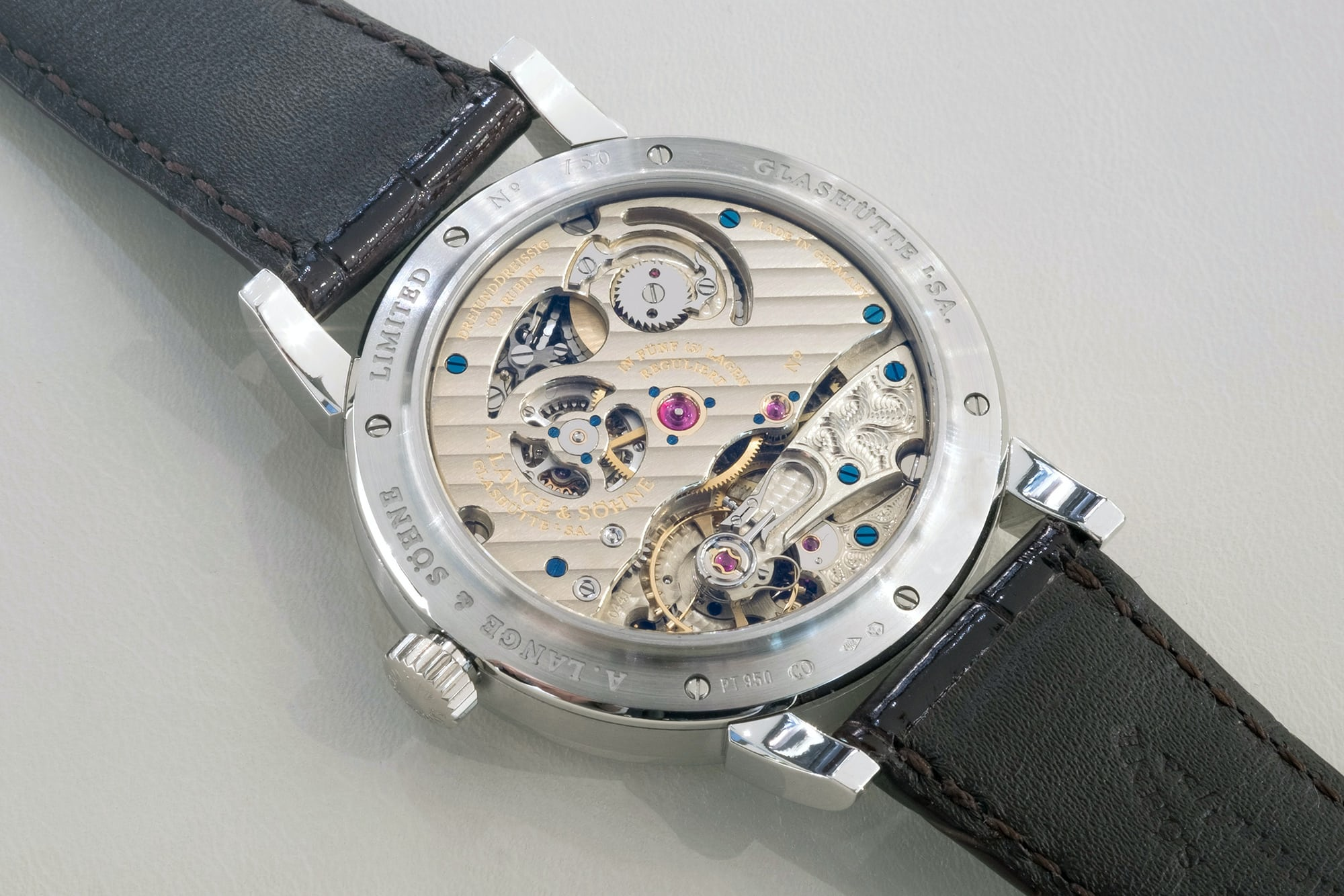Just Because: All Five A. Lange & Söhne 'Pour le Mérite' Watches In The Same Place, At The Same Time Just Because: All Five A. Lange & Söhne 'Pour le Mérite' Watches In The Same Place, At The Same Time plm 05
