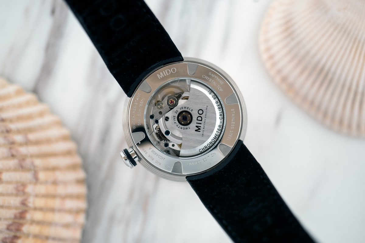 Mido Inspired By Architecture Limited Edition movement