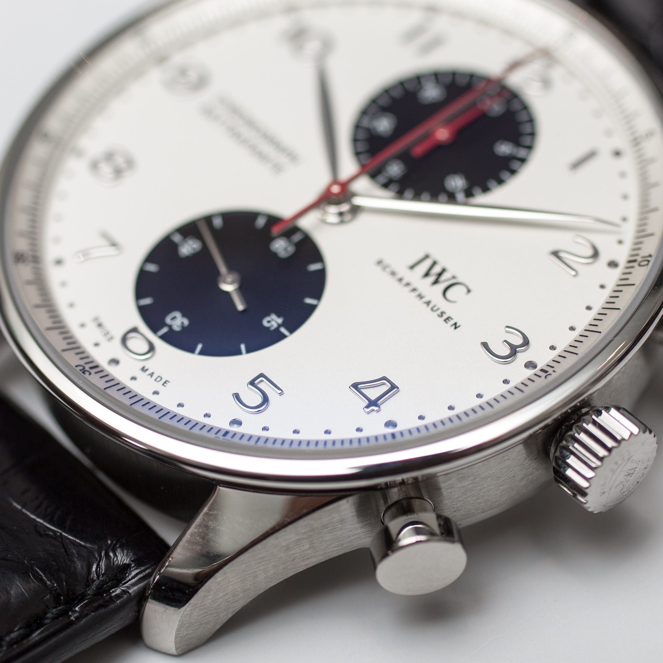 Hands-On: With The IWC Portugieser Chronograph Rattrapante Edition Boutique Canada Hands-On: With The IWC Portugieser Chronograph Rattrapante Edition Boutique Canada IWC Portugieser Chronograph Rattrapante Canada Boutique 7