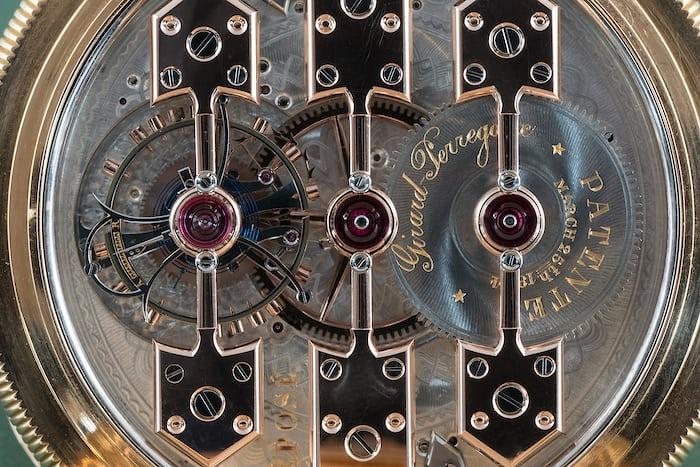 Girard Perregaux observatory tourbillon pocket watch