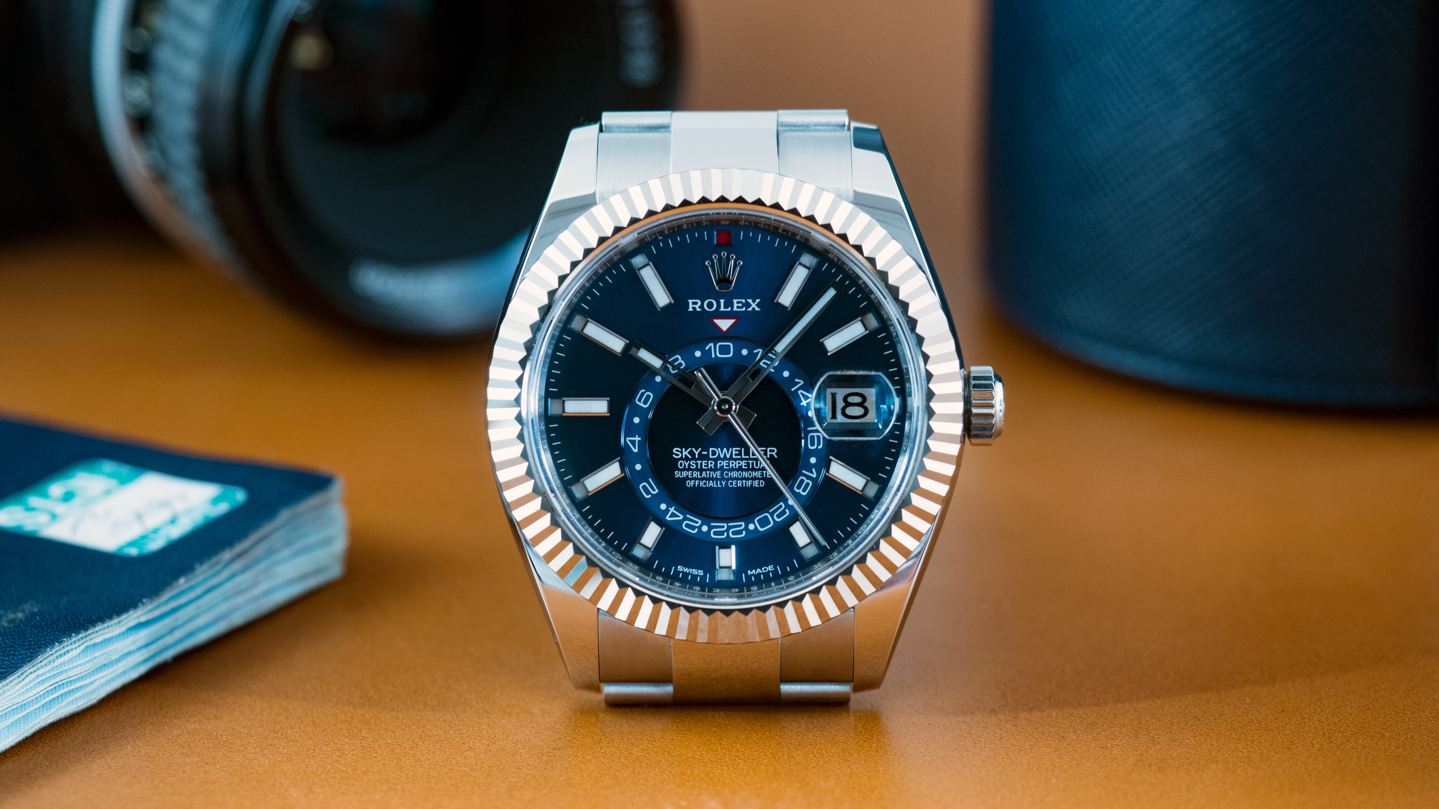 A Week On The Wrist The Rolex Sky,Dweller In Stainless