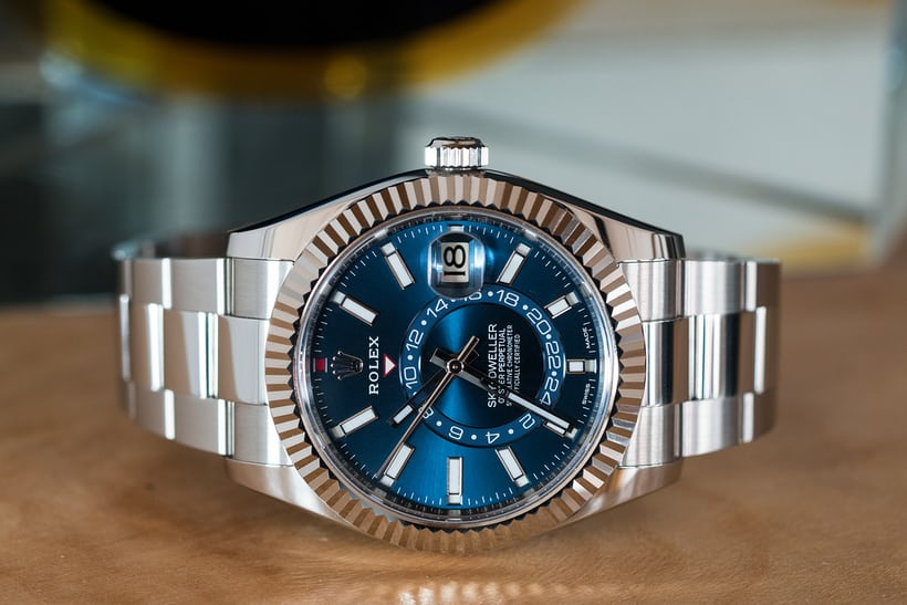 Rolex Sky Dweller White Gold Rolesor