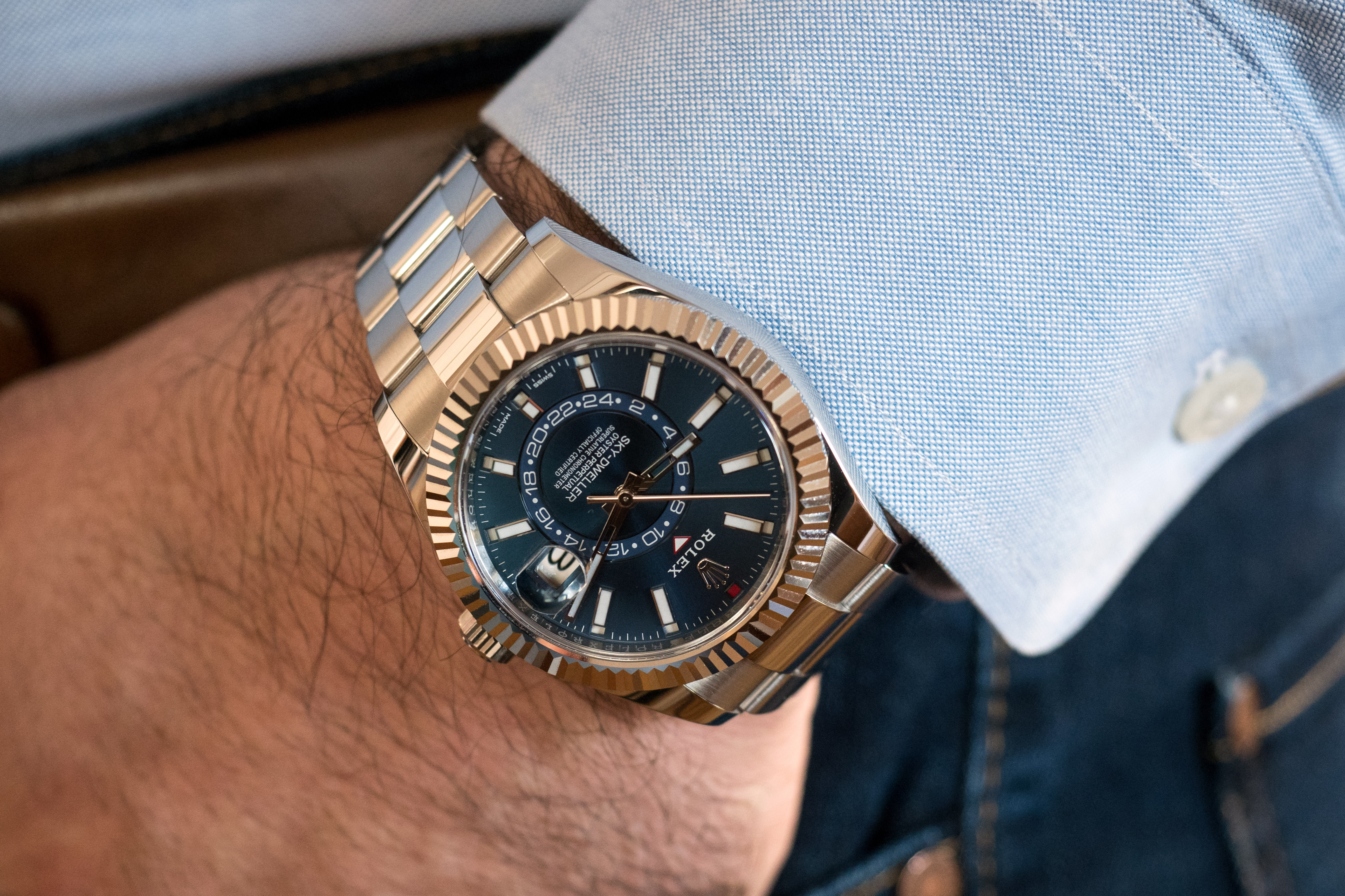 A Week On The Wrist: The Rolex Sky-Dweller In Stainless ...