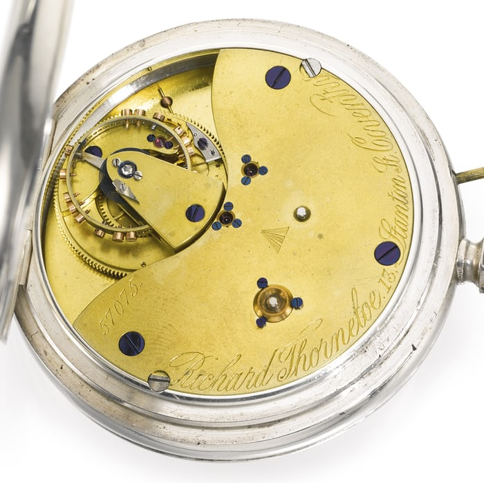Karrusel pocket watch by Richard Thornloe, Coventry, UK