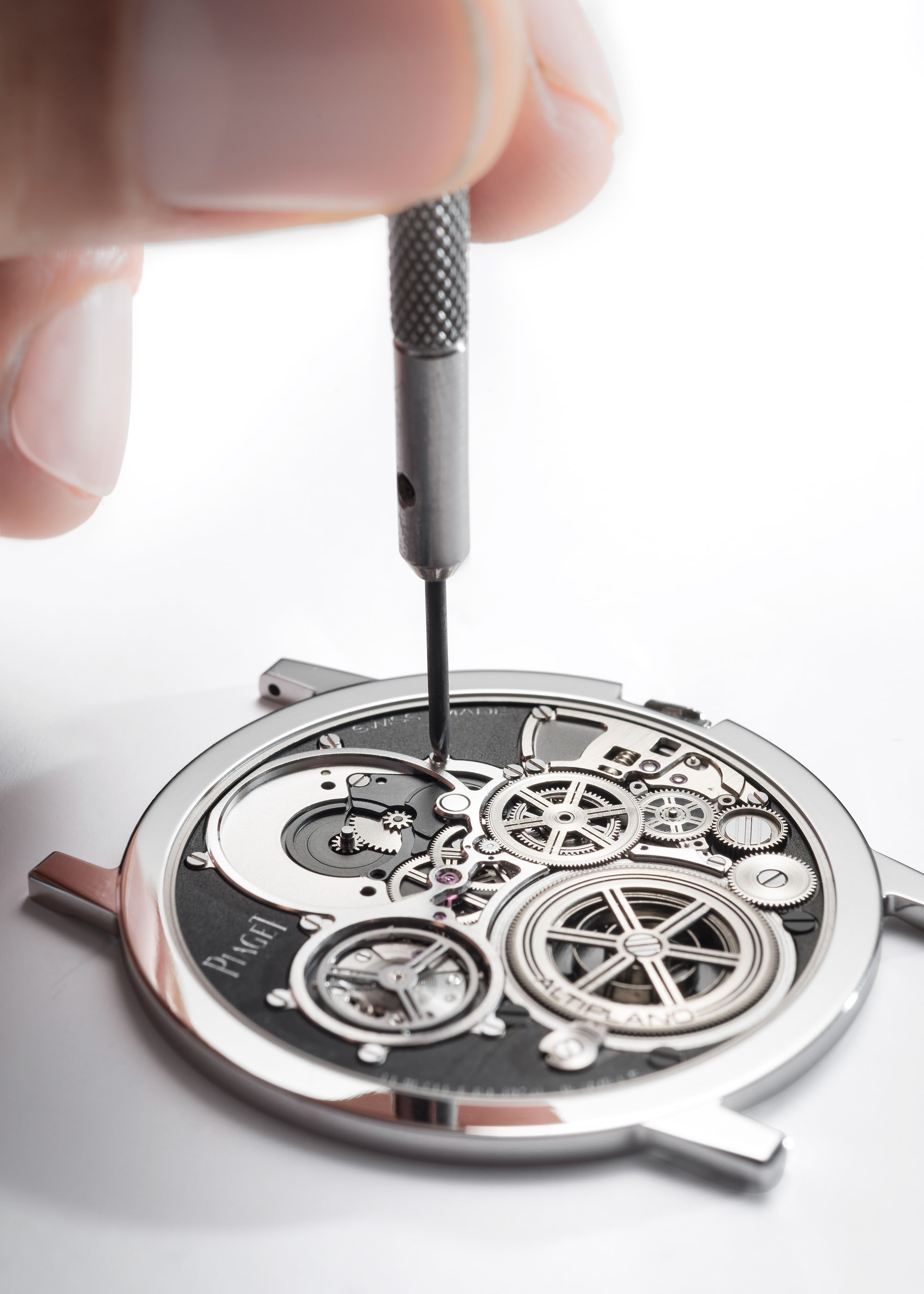 <p>Assembling an ultra-thin watch requires managing extremely minute clearances.</p>