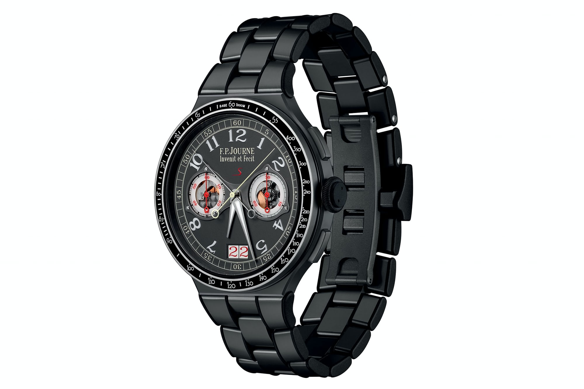 <p>The LineSport is known for sporty, light watches. This one, with its aluminum movement, is no exception.</p>