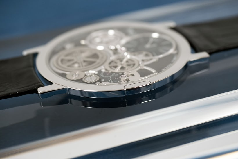 The Piaget Ultimate Concept Watch, 2mm of undiluted horological ingenuity.