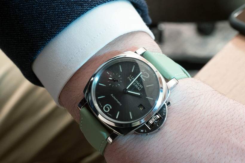 Hands On The Panerai Luminor Due 3 Days Automatic Acciaio 38mm