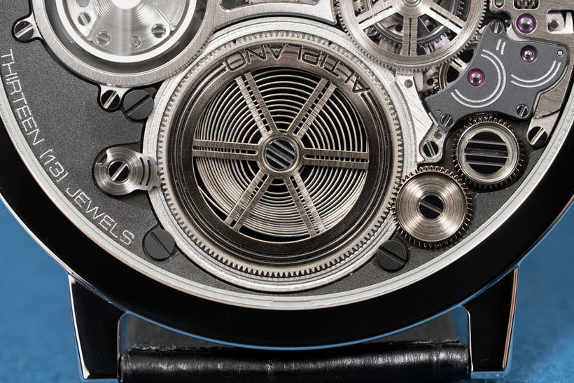 Mainspring barrel, Piaget Concept Ultra Thin