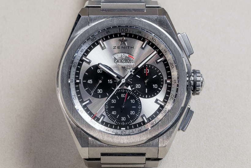 Many readers have noted that the pre-production model shown here has the  Zenith logo on both the dial and the crystal. HODINKEE s confirmed with  Zenith that ... b6ea1c4f14f