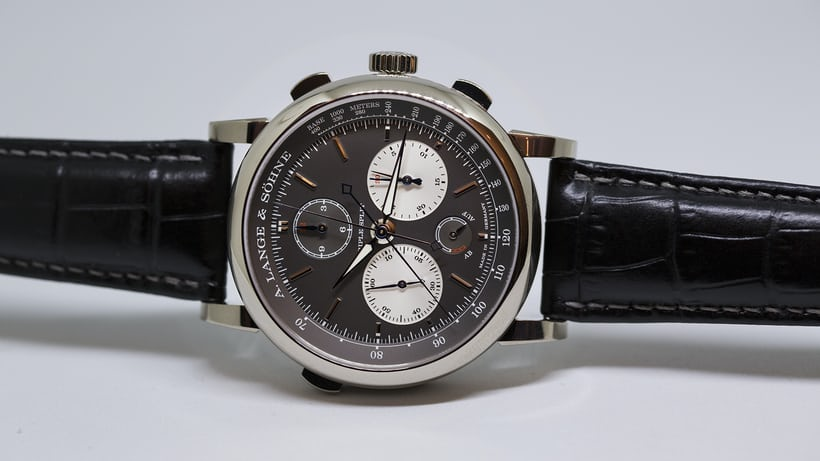 A. Lange & Söhne Triple Split dial side