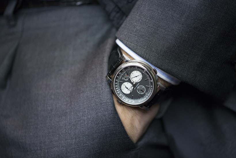 A. Lange & Söhne Triple Split wrist shot