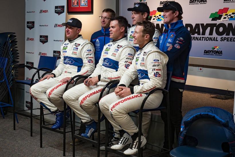Team Ganassi drivers 2018