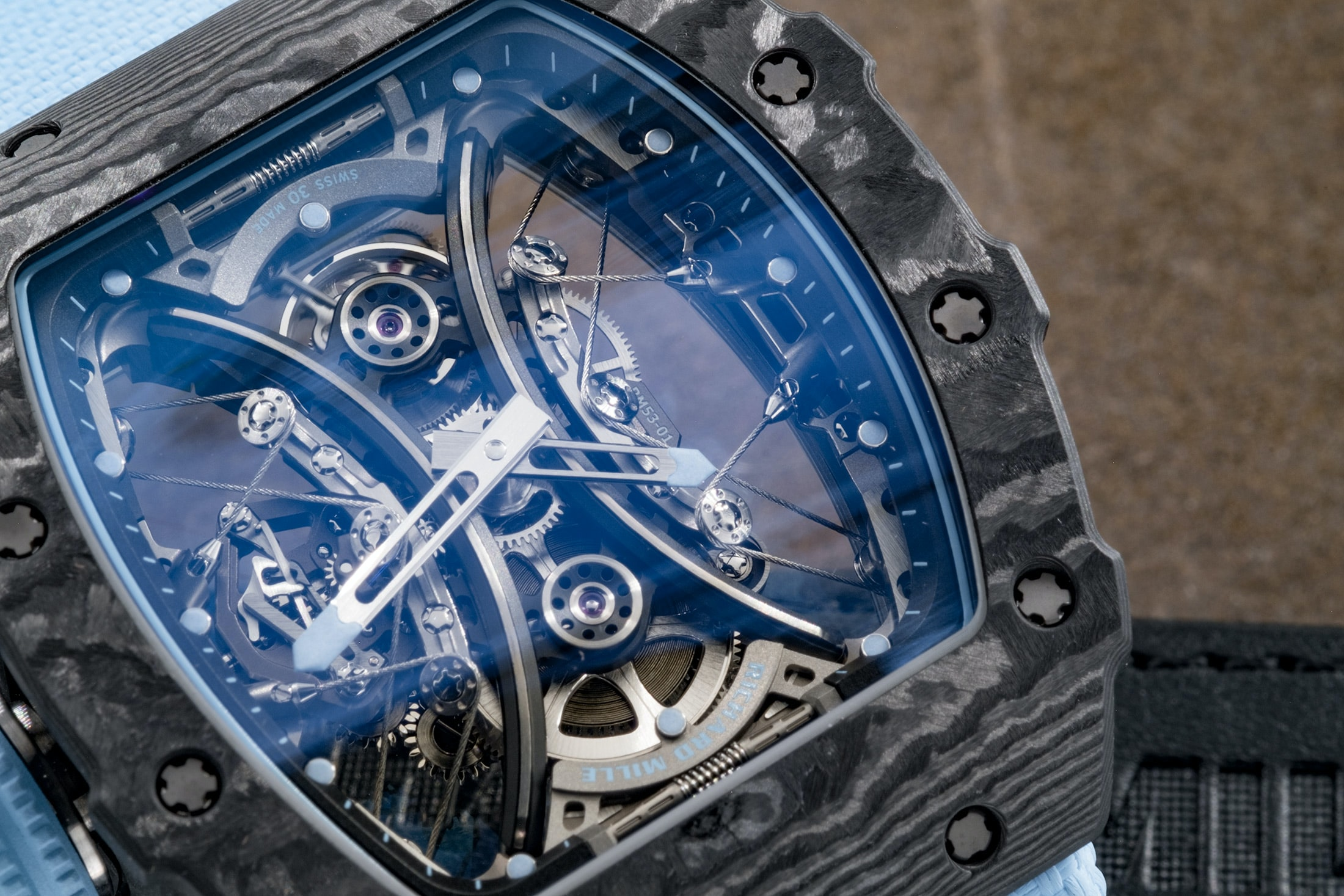 Hands-On: The Richard Mille RM 53-01 Tourbillon Pablo Mac Donough Hands-On: The Richard Mille RM 53-01 Tourbillon Pablo Mac Donough rm5301 02