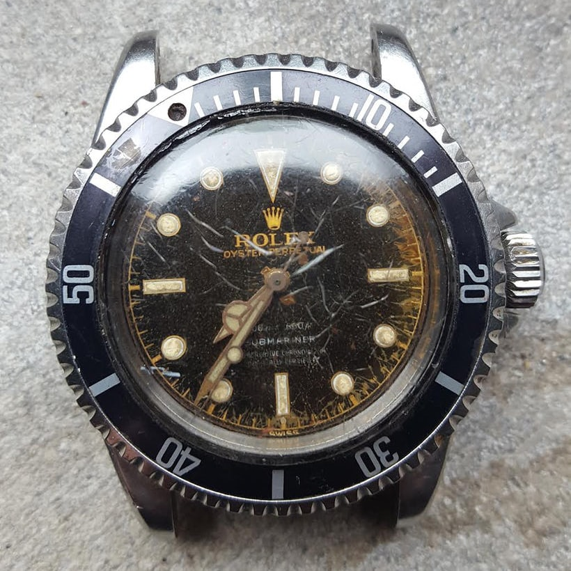 Found: A $10 Gilt Dial Rolex Submariner Reference 5512 Found: A $10 Gilt Dial Rolex Submariner Reference 5512 unnamed